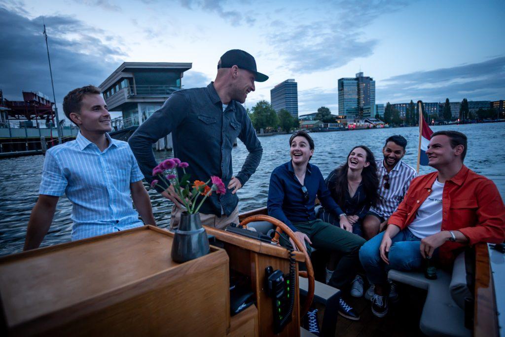 amsterdam private boat undine