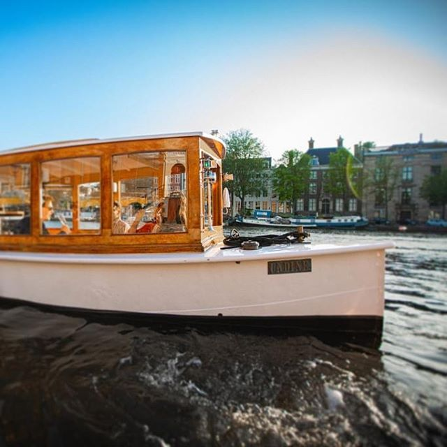 afternoon tea amsterdam boat